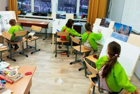 Рисуем и творим в детском Центре Макарун